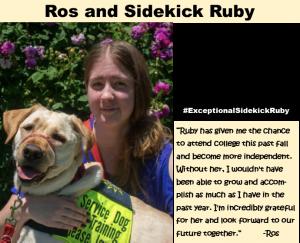 Testimonials Service dog ruby